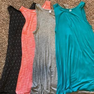 Set of Four Old Navy Dresses